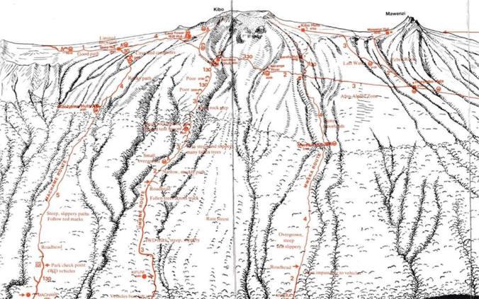 les routes du massif